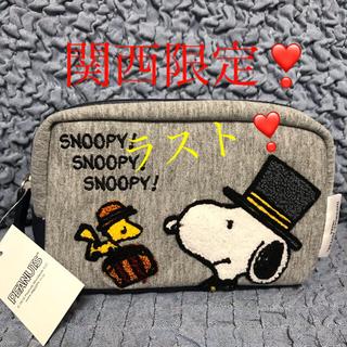 SNOOPY - お値下げ❣️ドアマン・スヌーピー 化粧ポーチ アメニティグッズ入り