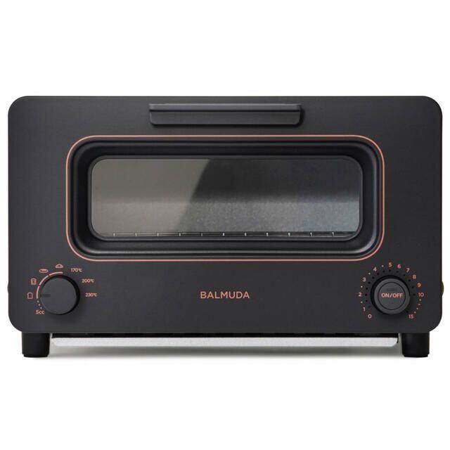 BALMUDA(バルミューダ)のBALMUDA The Toaster K05A-BK (新品未使用) スマホ/家電/カメラの調理家電(調理機器)の商品写真