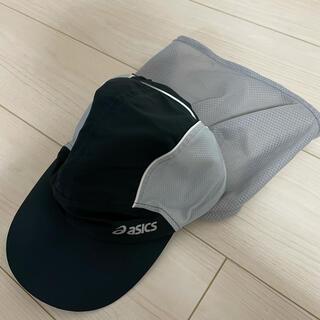 asics - アシックス asics XXC132 ランニングサンキャップ 男女兼用