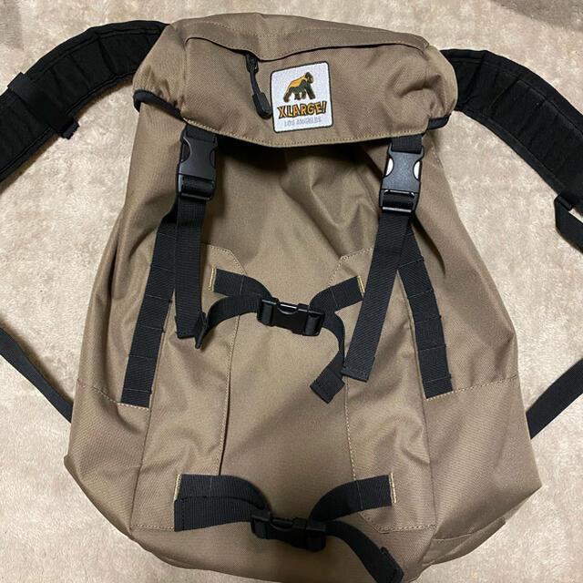XLARGE(エクストララージ)のXLARGE リュックサック お買い得!! メンズのバッグ(バッグパック/リュック)の商品写真