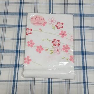 《✨しだれ桜✨》ガーゼハンカチ《日本製》(ハンカチ)