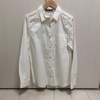 メイソングレイ(MAYSON GREY)の新品・未使用 メイソングレイ シャツ 白 ホワイト(シャツ/ブラウス(長袖/七分))