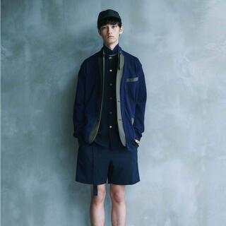 sacai - sacai Knit × Suiting Cardigan 21ss