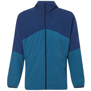 オークリー(Oakley)のOAKLEY オークリー エンハンスFGLフルジップジャケット青 メンズM新品(ウェア)