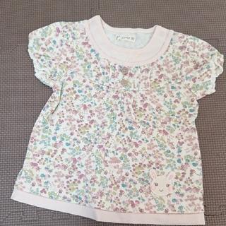 クーラクール(coeur a coeur)のクーラクール 紫 半袖Tシャツ 90(Tシャツ/カットソー)