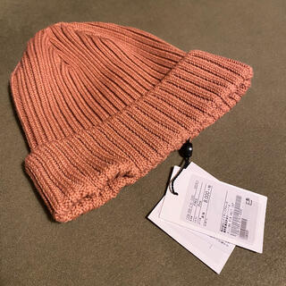 ユナイテッドアローズ(UNITED ARROWS)の未使用 KIJIMA TAKAYUKI☆ニット帽(ニット帽/ビーニー)