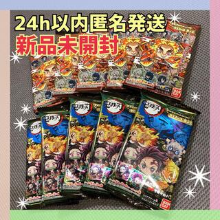未開封 10個 鬼滅の刃 ウエハース 其ノ3 デフォルメシール (キャラクターグッズ)