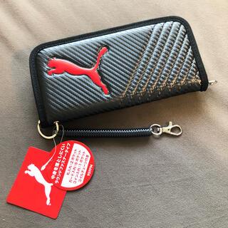プーマ(PUMA)の新品 プーマ 長財布 黒 チャック式(長財布)