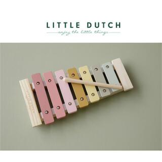 ボンポワン(Bonpoint)の▼ Little dutch リトルダッチ ▼ 木琴 シロフォン 楽器(楽器のおもちゃ)