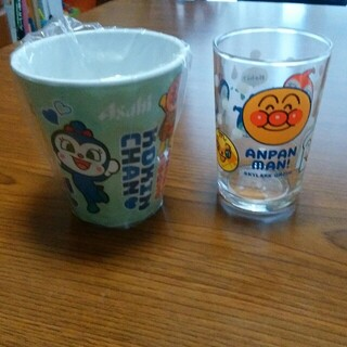 スカイラーク(すかいらーく)のアンパンマン コップ 2個セット(グラス/カップ)