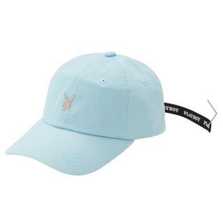 プレイボーイ(PLAYBOY)のプレイボーイ キャップ 帽子  (ブルー)(帽子)