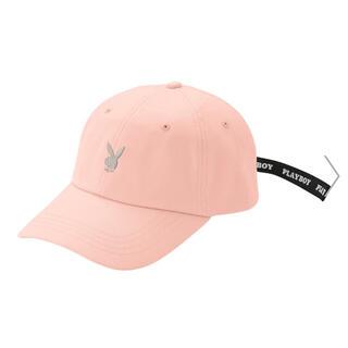 プレイボーイ(PLAYBOY)のプレイボーイ キャップ (ピンク)(帽子)