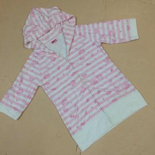 シマムラ(しまむら)の美品!ピンクパンサー 耳つきパーカー(ルームウェア)