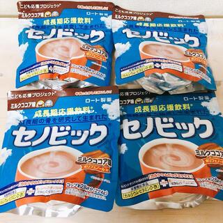 ロートセイヤク(ロート製薬)のセノビック ミルクココア味 224g×4袋(その他)