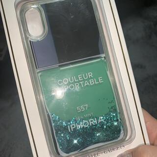アイフォリア(IPHORIA)のアイフォリア iPhoneXRケース ブルーポリッシュ(iPhoneケース)