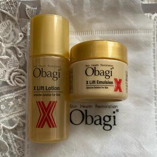 オバジ(Obagi)の【新品】オバジX リフトローション 18ml  リフトエマルジョン 15g(サンプル/トライアルキット)