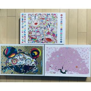 村上隆 カイカイキキ ジグソーパズル 3点セット(その他)