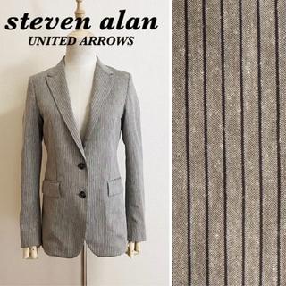 スティーブンアラン(steven alan)のSTEVEN ALAN コットンリネン ジャケット UNITED ARROWS(テーラードジャケット)