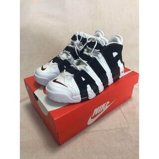 NIKE AIR MORE UPTEMPO WHITE/BLACK(スニーカー)