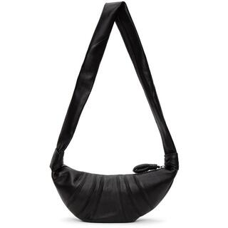 LEMAIRE - LEMAIRE ルメール Black Small Croissant Bag