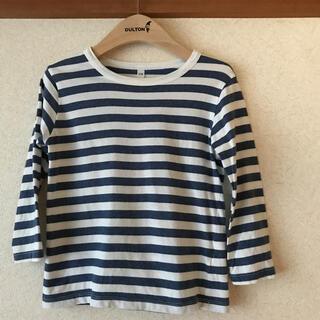 ムジルシリョウヒン(MUJI (無印良品))の【無印良品】長袖Tシャツsize110(Tシャツ/カットソー)