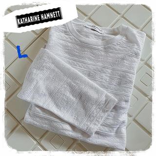 キャサリンハムネット(KATHARINE HAMNETT)のキャサリンハムネットラボ 長袖Tシャツ(Tシャツ/カットソー(七分/長袖))