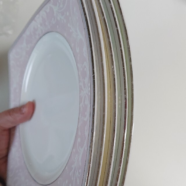 NIKKO(ニッコー)のNIKKO ニッコー 平皿 ケーキ皿 まとめ売り 5皿 インテリア/住まい/日用品のキッチン/食器(食器)の商品写真