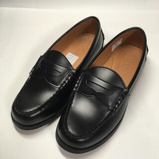 ポロラルフローレン(POLO RALPH LAUREN)のポロ ラルフローレン ローファー 黒 24cm(ローファー/革靴)