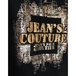 ジャンポールゴルチエ(Jean-Paul GAULTIER)の[未使用品]レアインポートコード刺繍入りバックドロップTシャツ ゴルチエジーンズ(Tシャツ(長袖/七分))