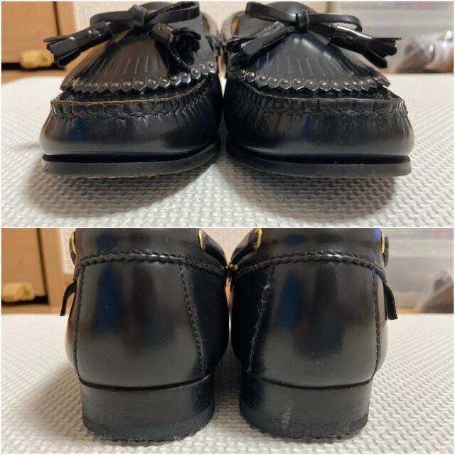 REGAL(リーガル)のREGAL ローファー タッセル ブラック 制服 学生 レディースの靴/シューズ(ローファー/革靴)の商品写真