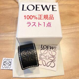 LOEWE - 大人気 LOEWE ロエベ ブレスレット ブラック