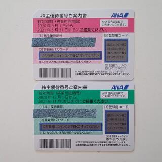 エーエヌエー(ゼンニッポンクウユ)(ANA(全日本空輸))のANA株主優待券 有効期間2021/11/30(その他)