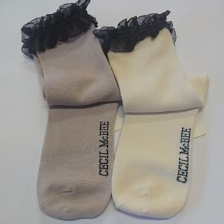 セシルマクビー(CECIL McBEE)のセシルマクビー 靴下(ソックス)
