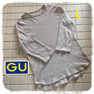 ジーユー(GU)のジーユー カットソー 七分Tシャツ(Tシャツ/カットソー(七分/長袖))
