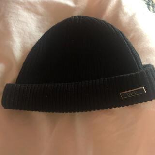 エルヴィア(ELVIA)のエルヴィラ elvira  ニット帽 ビーニー(キャップ)