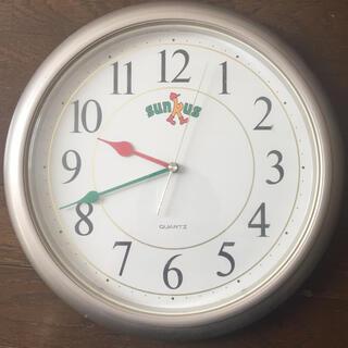 セイコー(SEIKO)の【希少.非売品】サンクス SEIKO製 時計(掛時計/柱時計)