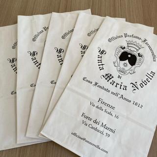 サンタマリアノヴェッラ(Santa Maria Novella)のサンタマリアノヴェッラ ショップ袋 5枚(ショップ袋)
