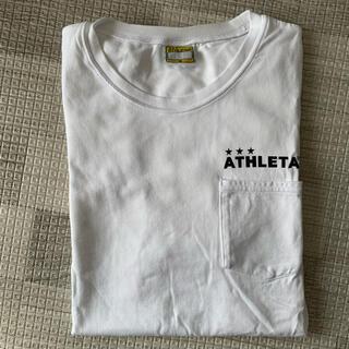 ATHLETA - ATHLETA  Tシャツ <白>