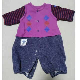 ニシキベビー(Nishiki Baby)のツーウェイカバーオール 50~60cm(カバーオール)