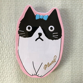ミュベールワーク(MUVEIL WORK)のミュベール 猫 缶ケース(ポーチ)