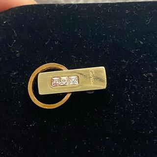 カルティエ(Cartier)のカルティエオーセンティックK18ネックレスペンダント、ダイヤモンド(ネックレス)