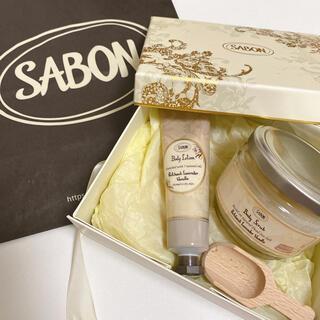 SABON - サボン ギフトセット スクラブ ボディローション パチュリラベンダーバニラ