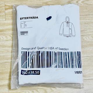 イケア(IKEA)の新品未使用 IKEA イケア エフテルトレーダ パーカー フーディー 白 完売 (パーカー)