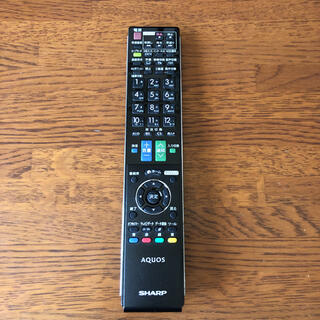 アクオス(AQUOS)のシャープ テレビリモコン GA881WJSA(その他)