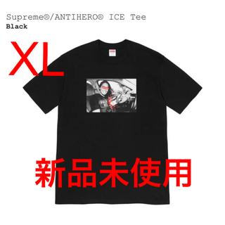 シュプリーム(Supreme)のsupreme antihero ice tee 黒 XL(Tシャツ/カットソー(半袖/袖なし))