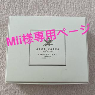 アッカ(acca)のAccaKappaアッカカッパホワイトモス香りのソープ&ハンドクリームセット(その他)