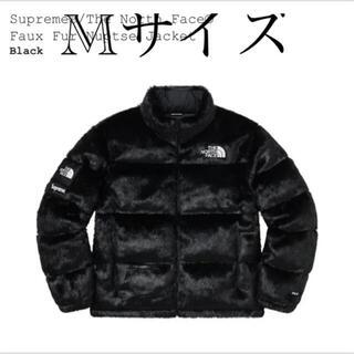 シュプリーム(Supreme)のSupreme The North Face Faux Fur Nuptse M(ダウンジャケット)
