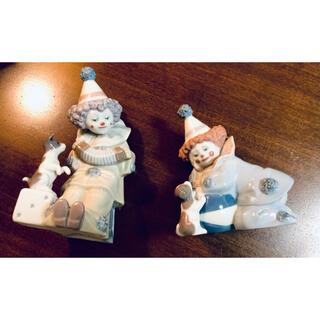 イリアド(ILIAD)のリヤドロ LLADRO  人形  2体 彫刻家Jose Puche サイン(陶芸)