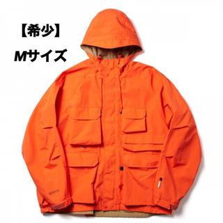 ダイワ(DAIWA)の【即完売】DAIWA PIER39 マウンテンパーカー オレンジ Mサイズ(マウンテンパーカー)