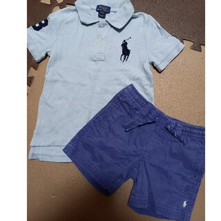 ポロラルフローレン(POLO RALPH LAUREN)のポロラルフローレン半袖ハーフパンツセット3T100(Tシャツ/カットソー)
